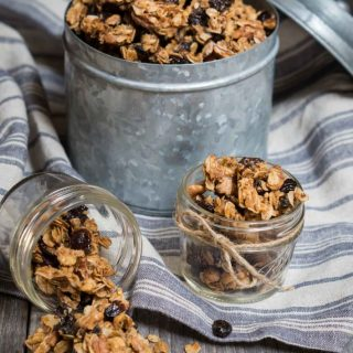 Vanilla Nut Granola makes a convenient snack when you're on the go, or a great way to add fiber to your yogurt.