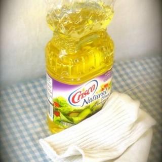 Oil Bottle Kitchen Trick