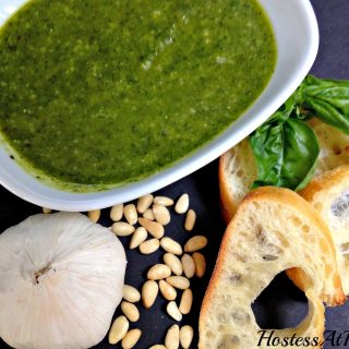 Sweet Basil Pesto - Hostess At Heart