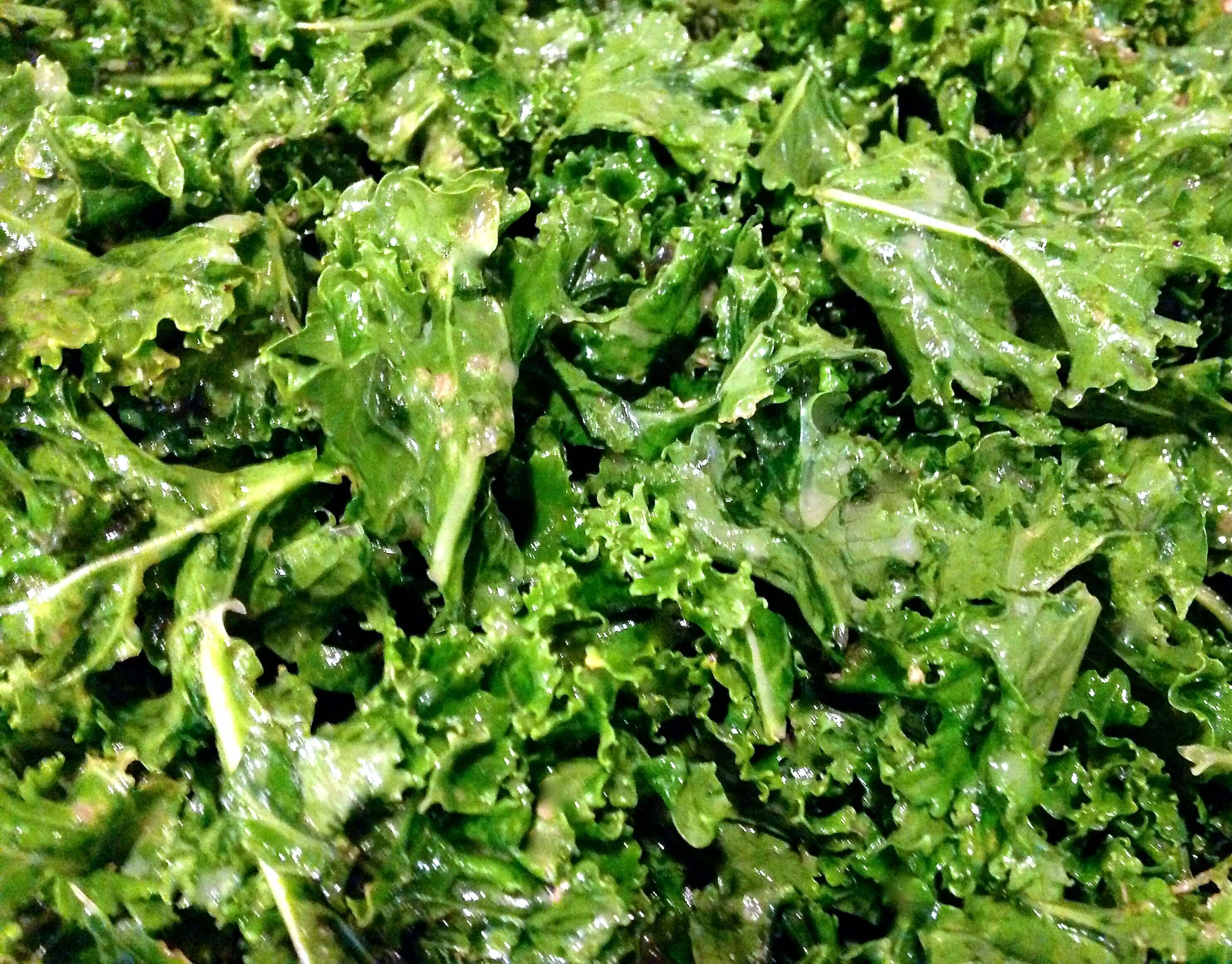 Dressed Raw Kale Salad - HostessAtHeart
