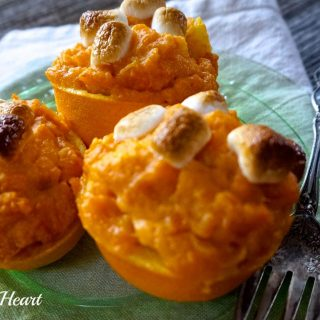 Orange Cup Sweet Potatoes add a bright citrus to your sweet potatoes and a beautiful fall color to your holiday table. They're perfect to make for two or a crowd.