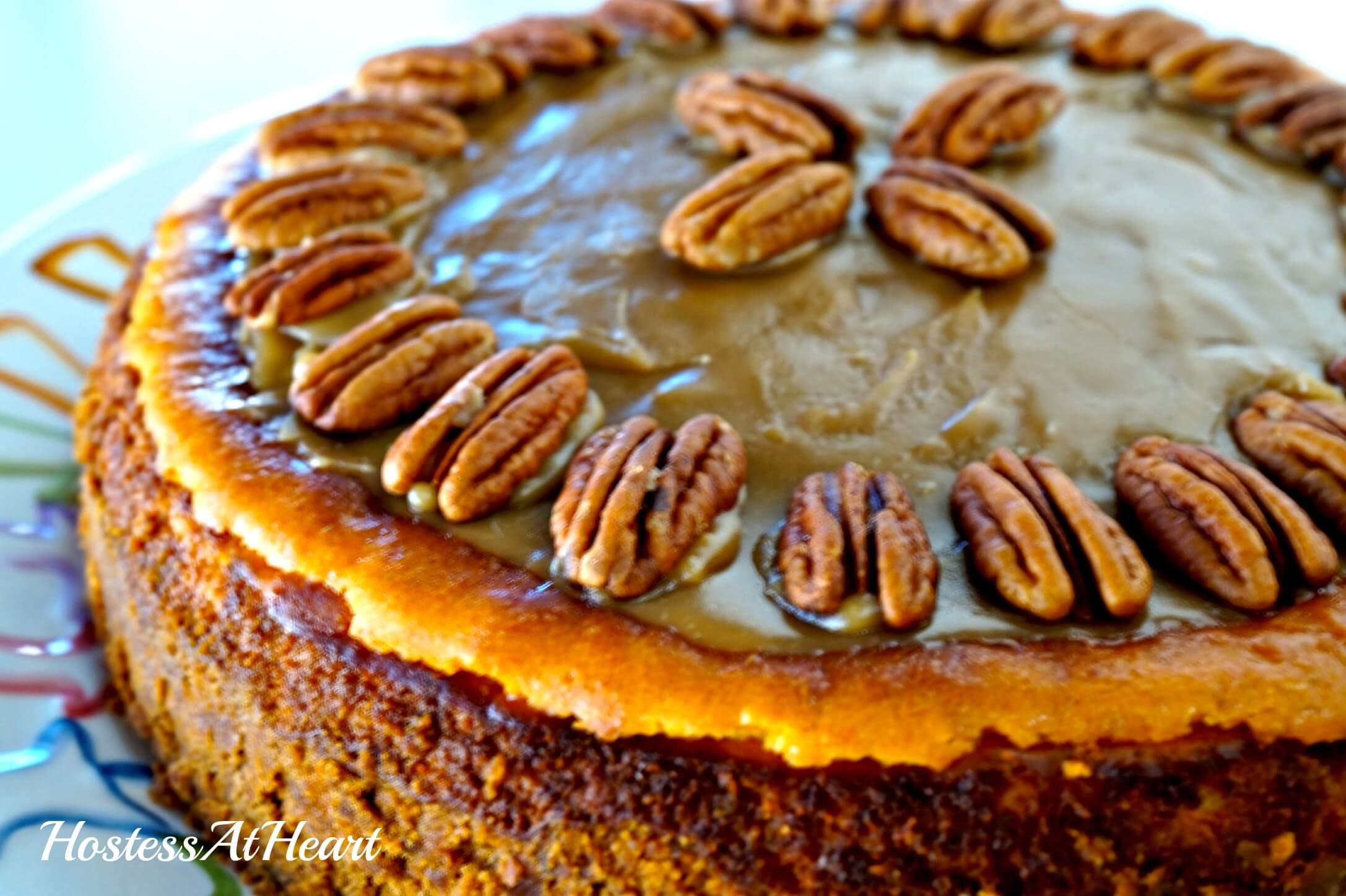 Pumpkin Pecan Cheesecake3