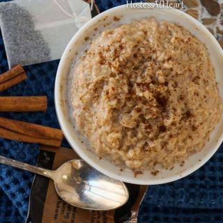 Chai-Spiced Steel Cut Oats - HostessAtHeart