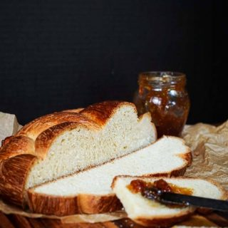 Hungarian Egg Twist bread is perfect for everyday or dressed up for a special occasion. You can sprinkle nuts or other additions to this sweetened bread or eat it as is. | Hostess At Heart