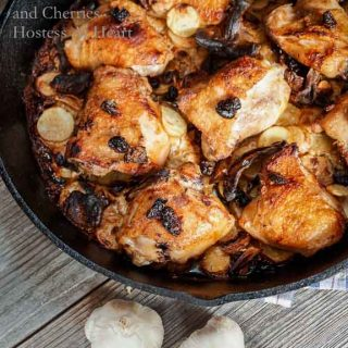 Braised Chicken Thighs - Hostess At Heart-1