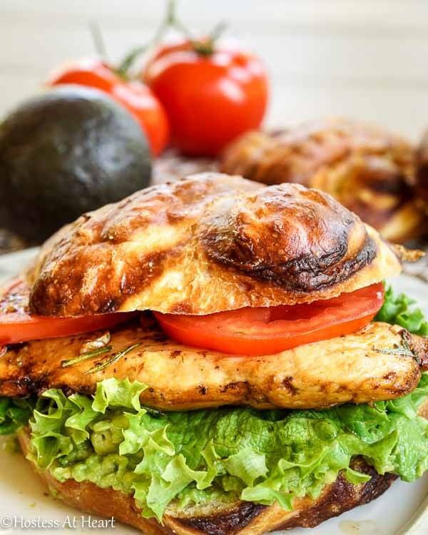 Balsamic Chicken Sandwich - Hostess At Heart