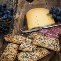 Three Seed Crackers | Hostess At Heart