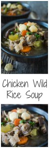 Chicken Wild Rice Soup | Hostess At Heart
