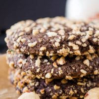 Dark Chocolate Molasses Cookies   Hostess At Heart