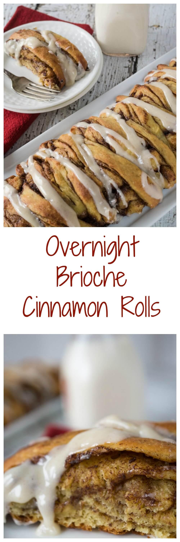 Overnight Brioche Cinnamon Rolls | Hostess At Heart
