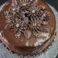 Chocolate Vodka and Kahlua guarantee a moist and delicious Black Russian cake | HostessAtHeart.com