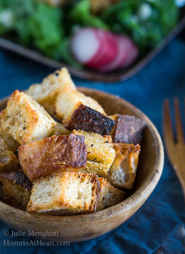 Homemade Bread Croutons