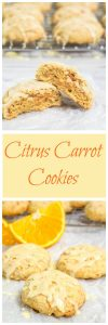 This Citrus Carrot Cookies recipe is slightly sweet, citrusy bright and a little bit like sunshine. These cookies are perfect for dessert or a snack | HostessAtHeart.com