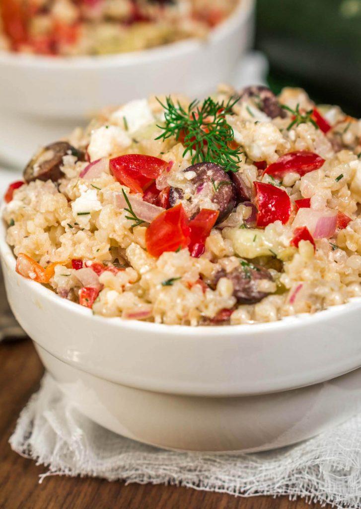 Greek Tabouli Salad Recipe