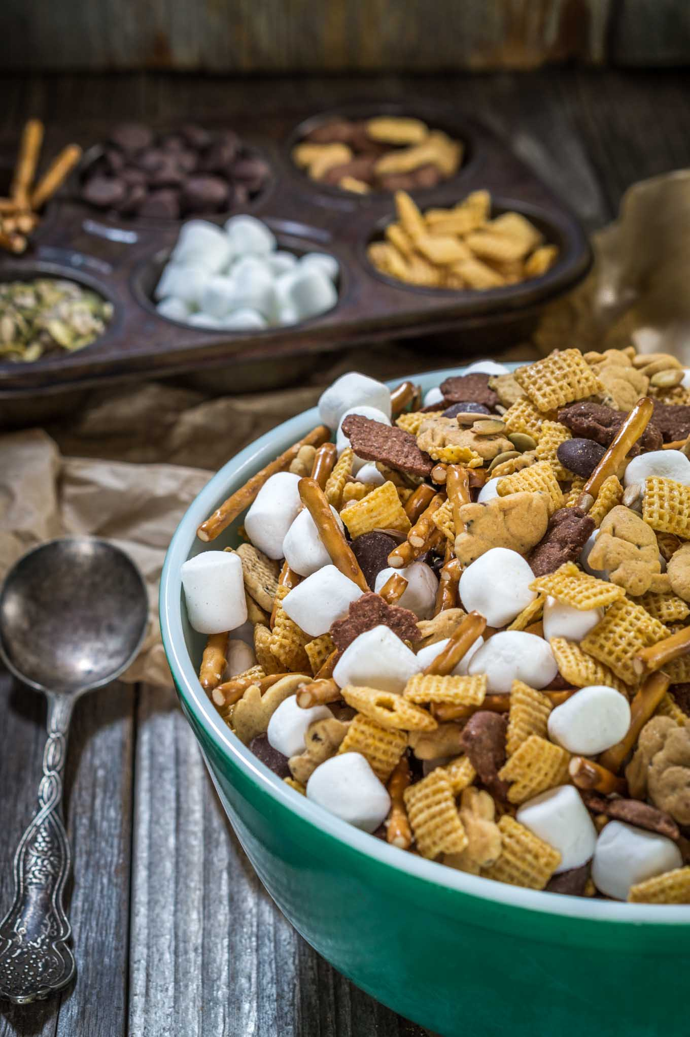 This Hoppin Down The Bunny Trail Mix recipe includes whole grains and good for you seeds. It's a great snack that's perfect after school or when traveling   HostessAtHeart.com