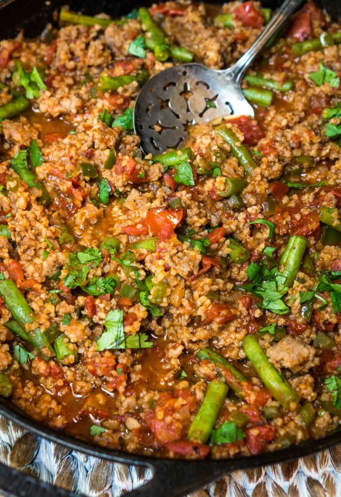 Bulgur Wheat has a mild warm nutty flavor. It can be cooked right into your recipe in 20 minutes which makes it perfect for one-pan meals   HostessAtHeart.com