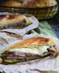 First, comes the bread and then comes the Best Cuban Sandwich! It's sweet, tangy and eggy, and best of all, delicious!   HostessAtHeart.com