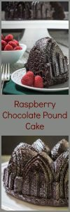There are some flavors that are just meant to go together. That would include chocolate and raspberry. Wrap them both up in a Raspberry Chocolate Pound Cake and you have a 5-star winner. | HostessAtHeart.com