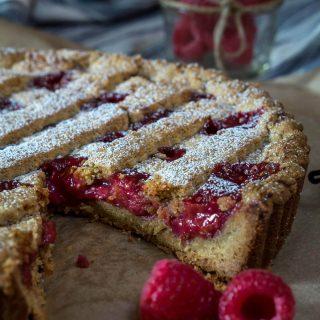 Raspberry Linzer Torte