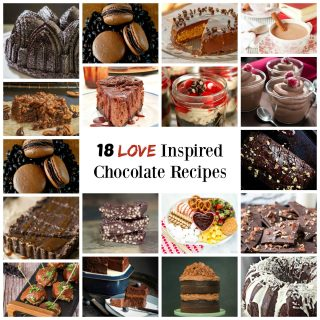 18 Love Inspired chocolate recipes | HostessAtHeart.com