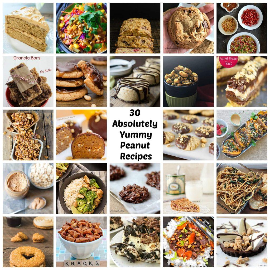 30 Absolutely Yummy Peanut Recipes