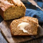 Better For You Banana Bread Recipe uses smarter ingredients so you can still have a slice with breakfast or a snack without all of the guilt. | HostessAtHeart.com