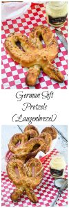 This German Soft Pretzel recipehas that perfect pull when you bite into them and a soft and tendercenter. These pretzels are so good they don't even need adipping sauce. | HostessAtHeart.com