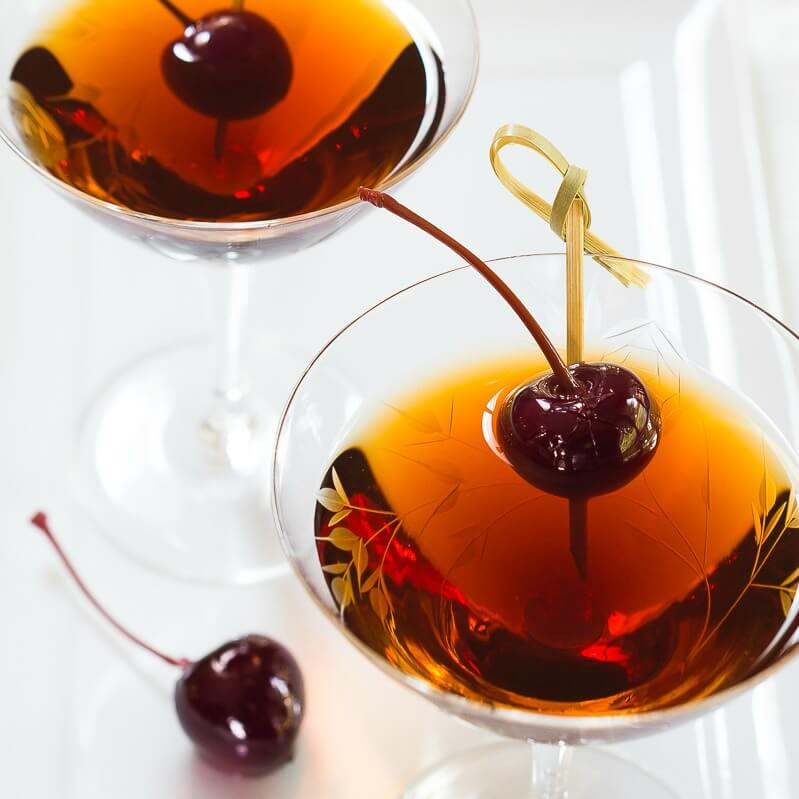 Smooth And Sexy Cuban Manhattan Cocktail Recipe Hostess At Heart