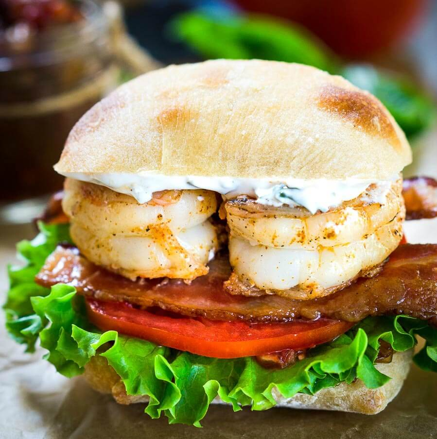 Shrimp BLT Sandwich