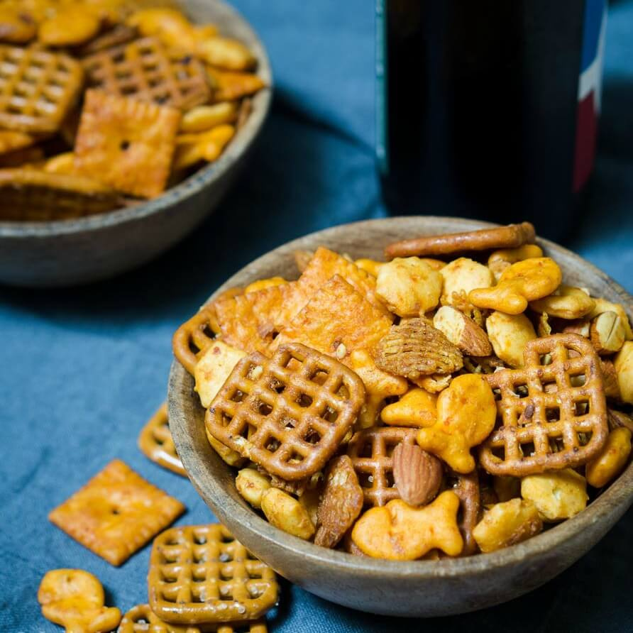 Spicy Sriracha Snack Chex Mix