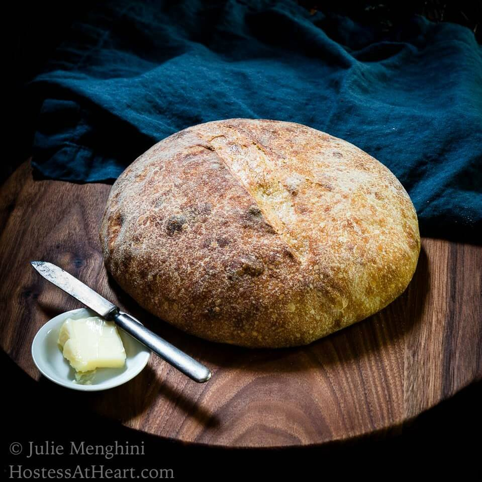 Overnight 500g Sourdough Bread recipe is a great basic recipe to make if you are just getting started baking Sourdough bread or have been at it for years.