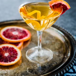 Blood Orange Godmother Cocktail