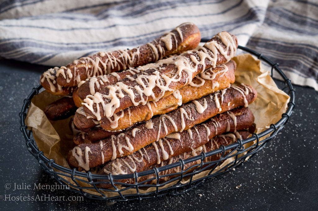 Cinnamon Sugar Soft Pretzel Recipe