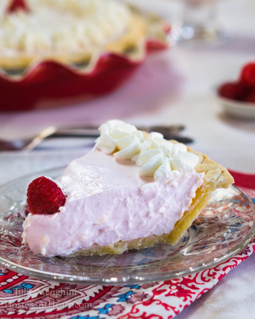 Raspberry Daiquiri Pie & Pudding