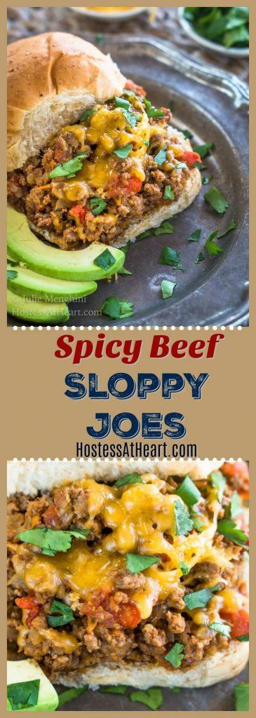 Spicy Beef Sloppy Joes Recipe