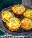 Ham, egg, and cheese breakfast muffins
