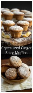Ginger Spice Muffin Pin collage