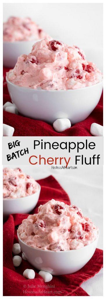 Pineapple Cherry Fluff Pinterest Collage