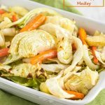 Easy roasted cabbage, carrots and apple medley are crunchy, slightly sweet, and never mushy! They make the perfect vegetarian dish or side dish.