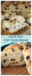 Irish soda bread has a soft and tender crumb dotted with sweet cherries.