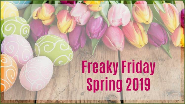Freaky Friday Spring 2019 banner