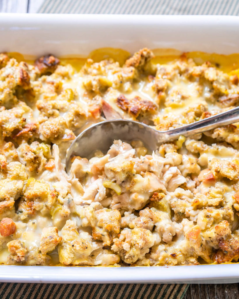 Leftover Turkey Casserole Only 3 Steps Hostess At Heart