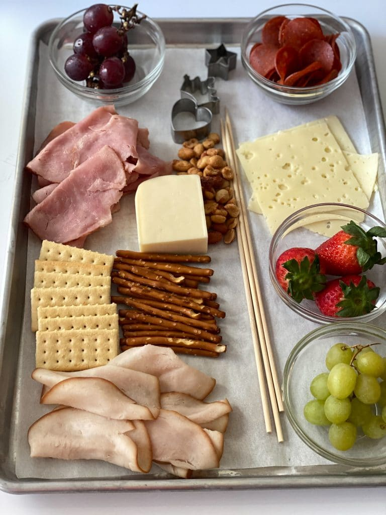 ingredients for charcuterie.